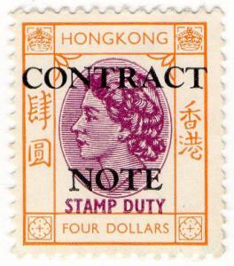(I.B) Hong Kong Revenue : Contract Note $4
