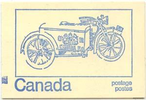 Canada COUNTER USC #BK71c - VF-NH - 1972 50c Centennial Booklet Untagged