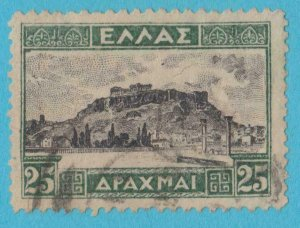 GREECE 334 USED  NO FAULTS VERY FINE !