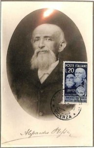 90049 - ITALY - Postal History - MAXIMUM CARD - 1951 Alessandro ROSSI wool works