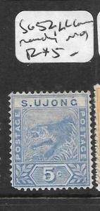 MALAYA SUNGEI UJONG (P0701B) TIGER 5C SG 52  MOG