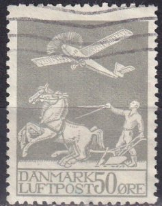 Denmark #C4 F-VF Used CV $315.00 Z985