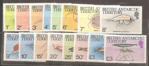 British Antarctic Territory SC 102-16 MNH