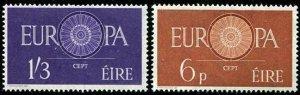 HERRICKSTAMP IRELAND Sc.# 175-76 Europa Stamps Mint NH Cat. Value $50.00