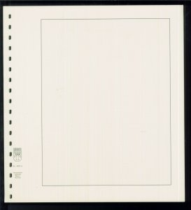Pack of 110 Linder Stamp Album Quadrille Blank Pages - Size: 11.75 x 10.75