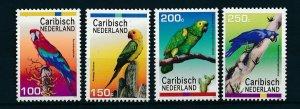 [CA027] Caribbean Netherlands 2012 Birds Parrots MNH
