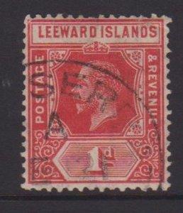 Leeward Islands Sc#48 Used Postmark Montserrat