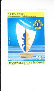 2017 New Caledonia Lions Club (Scott 1230) MNH