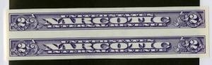 US Stamps # RJA80 2c Narcotic XF OG NH