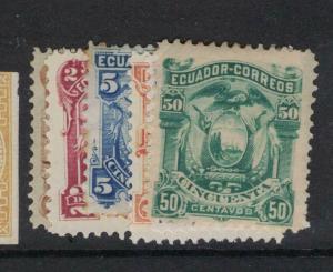Ecuador SC 12-7 MOG, 14 Is MNG (10dvs)