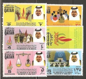 Qatar SC 372-7 MNH