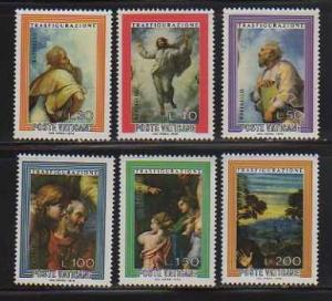 Vatican City MNH 595-600 Transfiguration Religious
