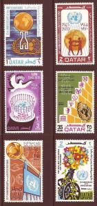 Qatar 226-231 Mint VF NH