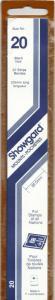 SHOWGARD BLACK MOUNTS 215/20 (22) RETAIL PRICE $9.75