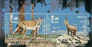 Stamps of Bosnia and Herzegovina 2021 - Europa 2021, block. Endangered national