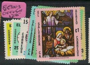 El Salvador SC 900-3, C442-5 MNH (4ecq)