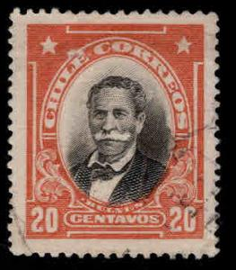 Chile Scott 105 Used 1911 stamp