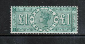 Great Britain #124a (SG #212a) Very Fine Mint Original Gum Lightly Hinged