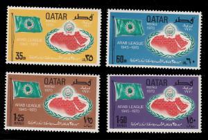 Qatar 202 - 205 MNH