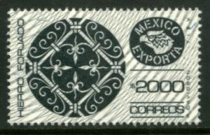 MEXICO Exporta 1502 $2000P Wrought Iron Wmk Granite Paper 9 MNH