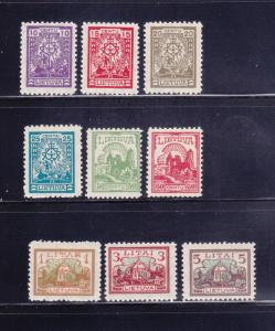 Lithuania 165-173 Set MH Various