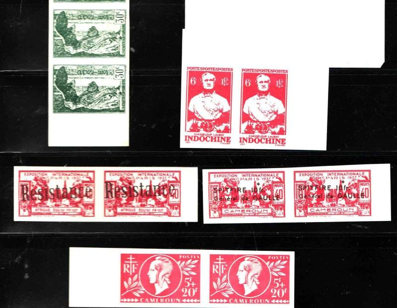 Stamp essay selection of 10, as shown
