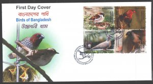 Bangladesh. 2010. Birds of Bangladesh. MNH.