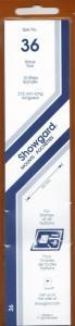 SHOWGARD BLACK MOUNTS 215/36 (15) RETAIL PRICE $9.75