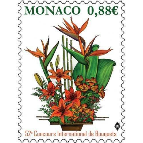 MONACO / 2019 - INTERNATIONAL BOUQUET COMPETITION (Flower), MNH