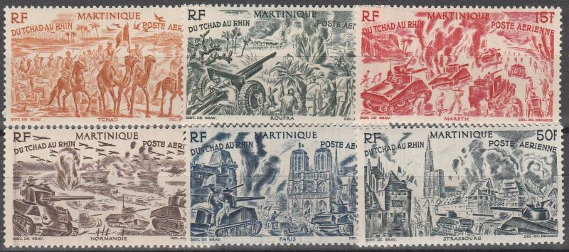 Martinique #C4-9  MNH CV $8.85 (A7693)