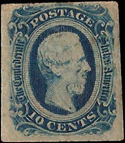 CSA 12... Mint,OG,H... SCV $21.00... Deep Blue
