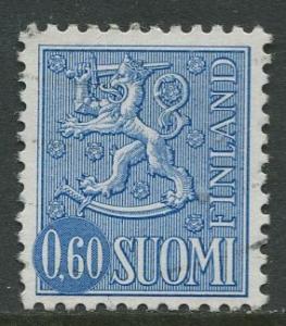 Finland - Scott 464B - Definitives -1968- Used - Single 60p Stamp
