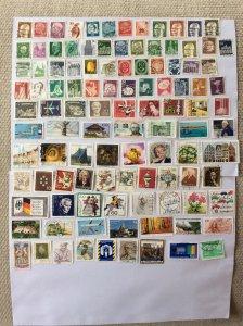 German 100+ stamps - Lot L