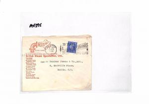 AV385 1946 GB Leicester EIRE Commercial Cover