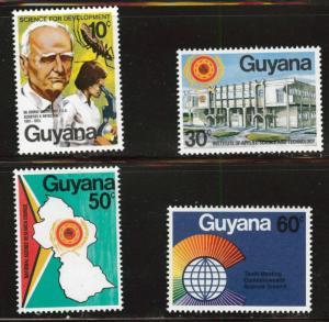 GUYANA Scott 275-278 MNH** set