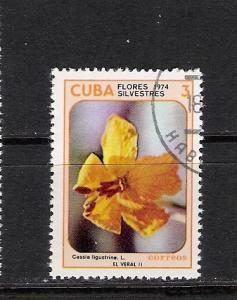 CUBA 1921 VFU FLOWER M823