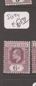 Sierra Leone SG 94 MOG (4cdy)