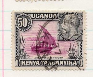 Kenya Uganda Tanganyika 1935 GV Early Issue Fine Used 50c. 198450