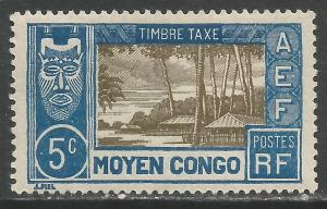 MIDDLE CONGO J12 MOG X217