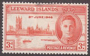 Leeward Islands 117 Hinged 1946 KGVI Peace Issue CD303