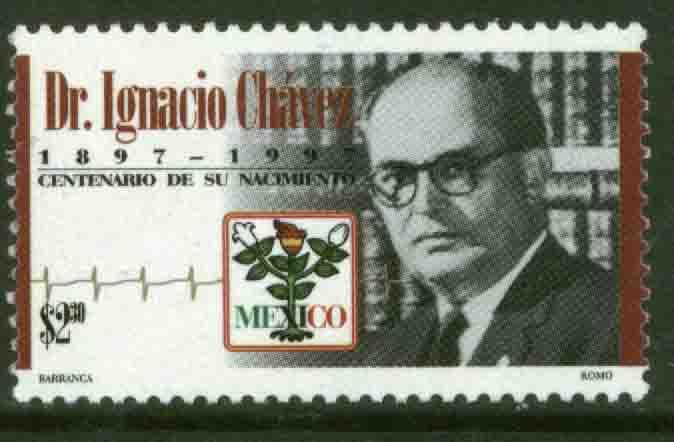 MEXICO 2031 Dr Ignacio Chavez, Centenary of his Birth MNH