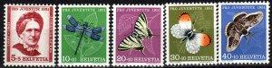 Switzerland #B207-11 MNH CV $10.00 (X7119)