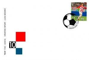 CROATIA/2019, (FDC) LUCA MODRIC (Soccer, Sport), MNH