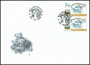 Slovakia 1994 FDC 43 The Races at Mojmírovce