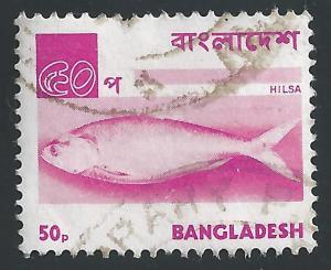 Bangladesh #99 50p Fish - Hilsa