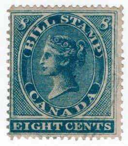 (I.B) Canada Revenue : Bill Stamp 8c (1864)