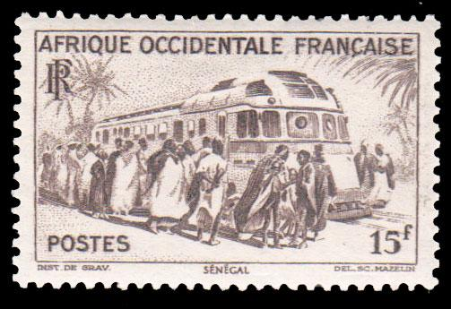 French West Africa Scott 52