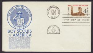 US 1145 Boy Scouts Anderson U/A FDC