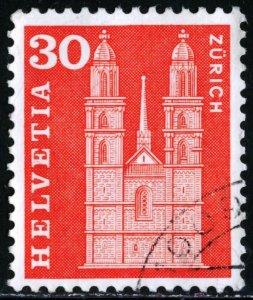 SWITZERLAND #387, USED - 1960 - SWIT103