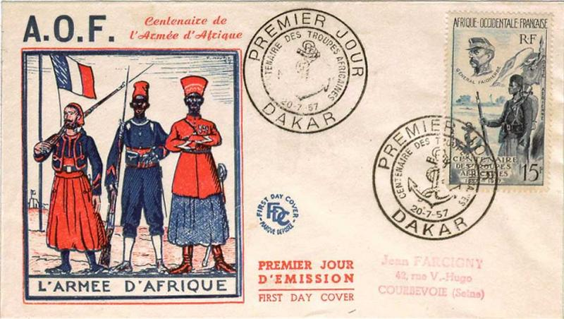 French West Africa Scott C21